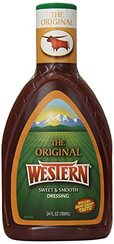 Western Salad Dressing, Original, 24 Ounce (Pack of 6)