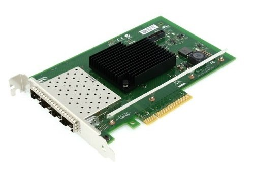 Dell Intel X710 - Netzwerkadapter - PCIe Low-Profile - 10Gb Ethernet x 4 - für EMC PowerEdge C6420, R640, R740, R740xd