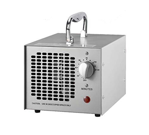 Cutygo Generatore di Ozono Commerciale - 3500 MG/h | Sterilizzatore Deodorante Purificatore d'Aria O3 Professionale per Casa, Ufficio, Fumo, Auto e Animali Domestici