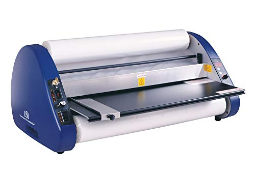 USI Thermal Roll Laminator, ARL 2700 with Cooling Fans, Laminates Films up to 27 Inches Wide and 5 Mil Thick, 1 Inch Core, UL Listed, Industry Best 2-Year Warranty (Renewed)