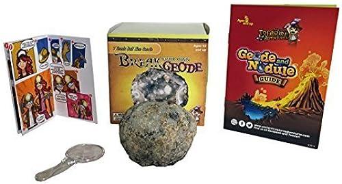 Break Your Own Geode Tennis Ball Größe By Ancient Treasure Adventures by Gem Center U.S.A.