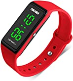 Kids Digital Sports Watch for Boys Girls - Kid Waterproof Analogue Watches with Chronograph, Childrens Outdoor Electronic Wristwatch with LED Backlight for Teenagers