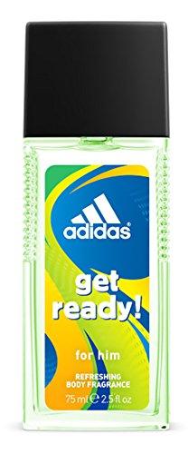 Adidas Get Ready Natural deodorant, 1 x 75 ml