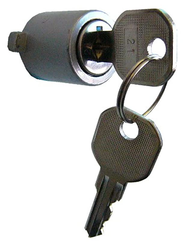 Ideal Security SK8 Key Lock Cylinder for Push-Buton Storm and Screen Door Handles