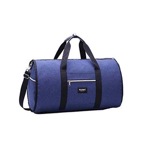 Gym Bag Gym Tasche Calvinbi Damen Herren 2 in 1 Duffle Reisetasche Anzug Aufbewahrungstasche Business-Tasche Luggage reisehandtaschen