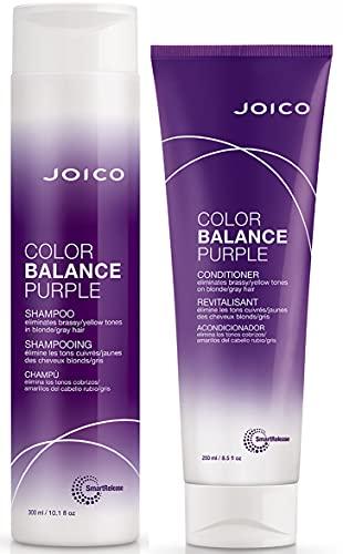 Joico Color Balance Purple Shampoo 10.1 fl oz + Purple Conditioner 10.1 oz...