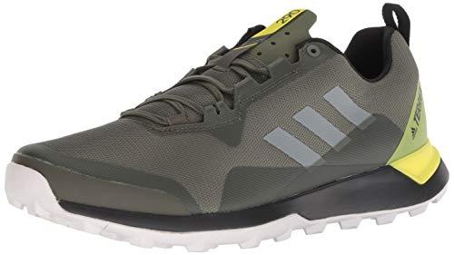 adidas outdoor Men's Terrex CMTK, Base Green/Grey one/Shock Yellow, 10 D US