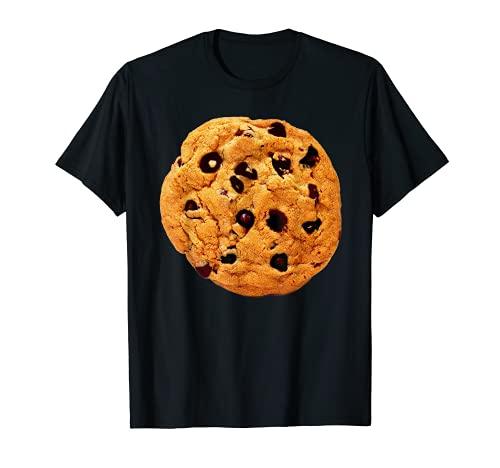 Camisa de disfraz de galleta de chocolate de última hora Lazy Party Camiseta