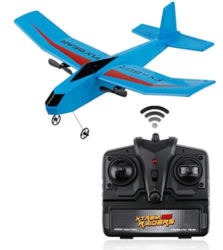FancyWhoop RC Flugzeug FX-807 RTF RC Flugzeug 2,4 GHz 2CH EPP ferngesteuertes Flugzeug Segelflugzeug Leicht zu fliegen für Anfänger Erwachsene Kinder