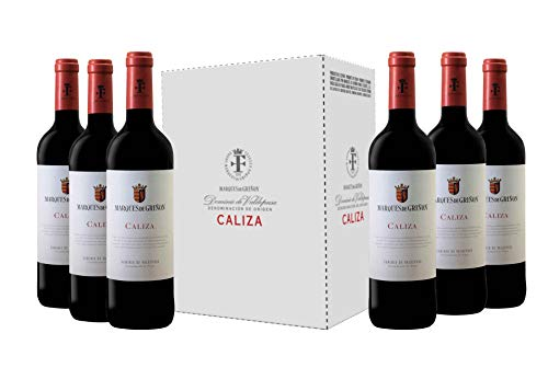 Caja de Marqués de Griñón Caliza - 6 botellas x 750 ml