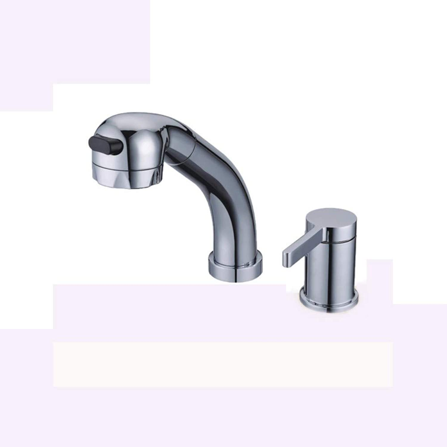 Faucet Plumbing hot and Cold Water Pull-Out Kitchen Faucet