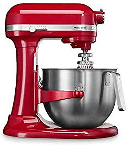 Kitchenaid 5KSM7591XEER Küchenmaschine 1.3 HP Heavy Duty 6,9L, Rot