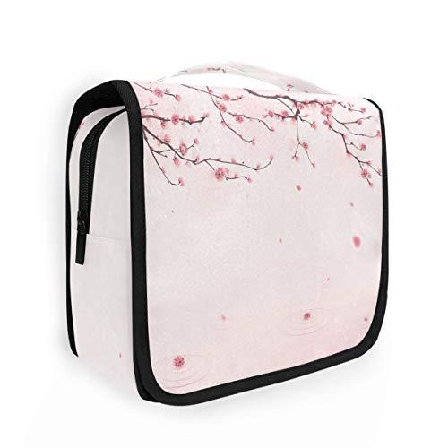 CaTaKu Spring Blossom Cherry - Neceser multifunción para cosméticos, portátil, resistente al agua, organizador de viaje para hombres y mujeres