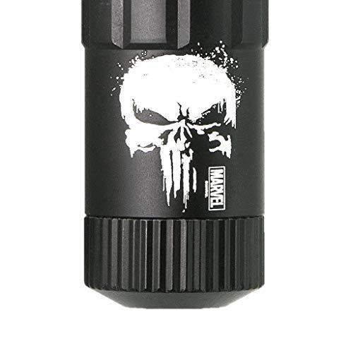MAGLITE MAG-TAC CR123 LED Flashlight Crowned Bezel - Officially Licensed MARVEL Punisher Special Edition