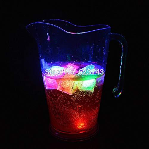 Secondaire Acrylique coloré Bouteille de bière Seau à Glace discothèque rougeoyant chope de bière Flash Verre à vin Champagne Armoire à vin