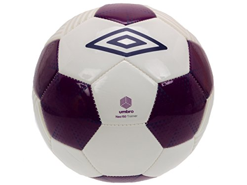Umbro - Pallone da calcio Neo Trainer taglia 5, colore viola, taglia unica