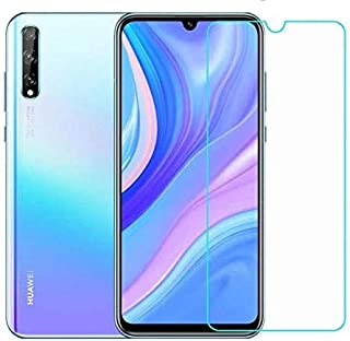 Huawei Y8p Screen Protector Glass Full Glue Screen Guard Anti Explosion 2.5D for Huawei Y8p by Nice.Store.UAE
