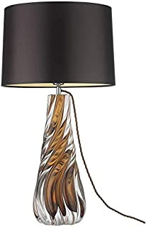 """Lampes de table Lampe De Salon Lampe de table de luxe 26.6""""Lampes de table Lampe De Salon de bureau en verre Twist Twist C..."""