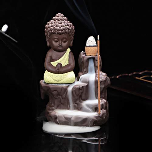 Mayco Bell Quemador de Incienso de reflujo, de cerámica Amarillo