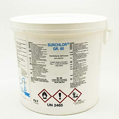 Surchlor 56 - Cloro en polvo para piscinas, 10 kg