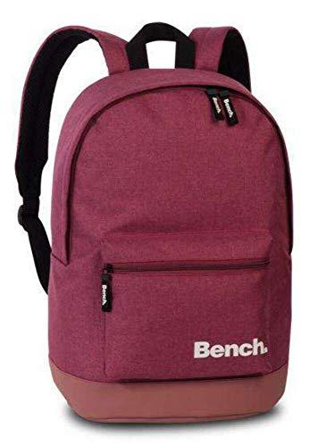 Bench Rucksack Daypack Backpack Schulrucksack 64150, Farbe:Brombeere