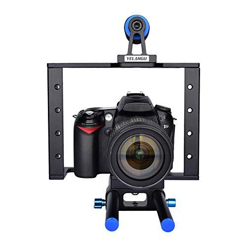 Hangarone Kamerastabilisator, Für YELANGUC1 SLR Fotografie rutschfeste Kamera Kaninchenkäfig Tragbarer Stabilisator Kit Mit 1/4,195X260X250mm