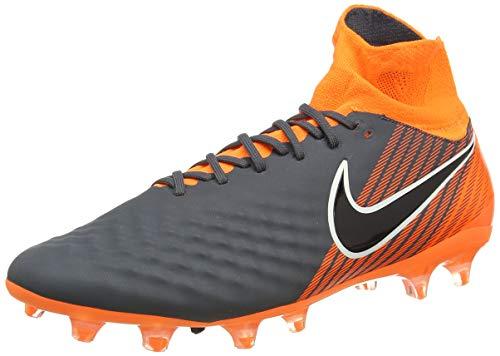 Nike Herren Magista Obra II Pro DF FG Fitnessschuhe, Mehrfarbig (Dark Grey/Black/Total 080), 45 EU
