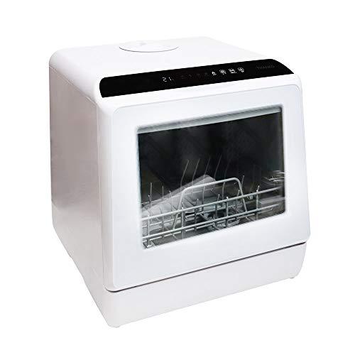 【Amazonでの販売は終了いたしました】THANKO 水道いらずのタンク式食洗機「ラクア」 STTDWADW