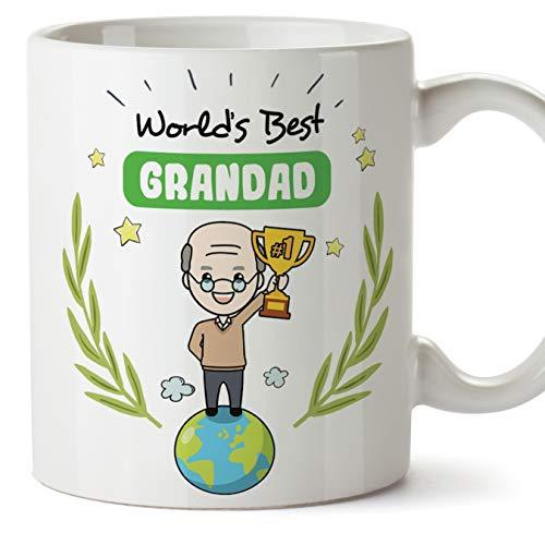 (Tasse en anglais) Grandad Original Mug tasse cadeau parfait - meilleur grand-père du monde - 11 oz en céramique