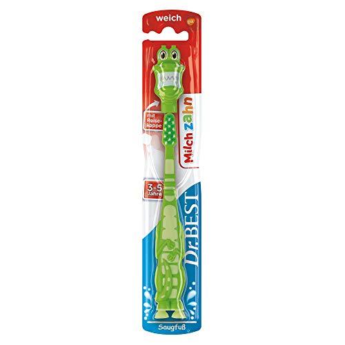 Dr. Best Milchzahn Zahnbürste, weich, für das Milchgebiss, 1 Stk, Farblich und Modell sortiert