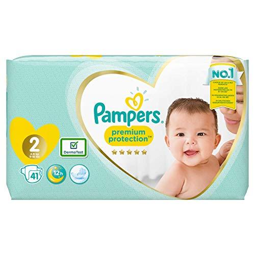 Pampers 81687016 Pampers Premium-Schutz Größe 2, x41-Windeln, 4kg-8kg