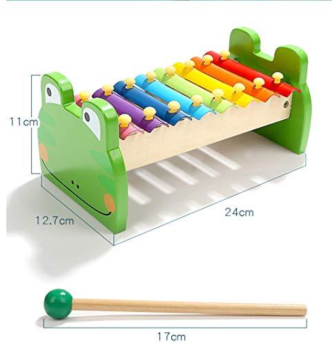 CMDDYY Toys - Babykinderen octaaf speler kloppen op de piano baby speelgoed klop op de piano instrument