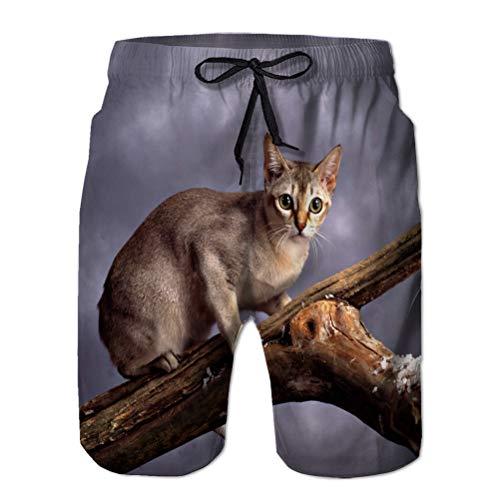 NA Shorts de Playa para Hombres Shorts de Tablero Trajes de baño...