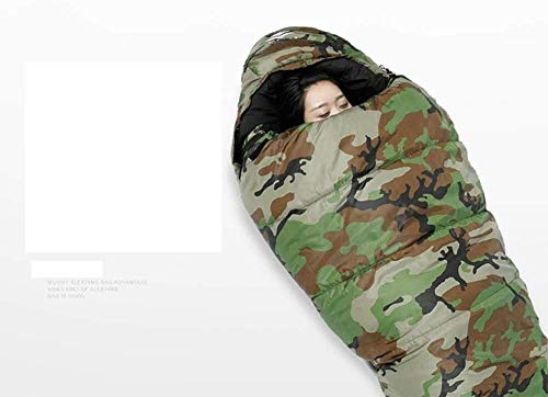 sleeping bag Portable Air leakage effects mummy camping outdoor ultralight disguised as humans and thick warm