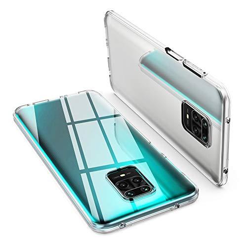 "ORNARTO Durchsichtig Kompatibel mit Xiaomi Redmi Note 9S Hülle, Redmi Note 9 Pro Transparent TPU Flexible Silikon Handyhülle Schutzhülle Hülle für Xiaomi Redmi Note 9S/Note 9 Pro(2020) 6,67""-Klar"
