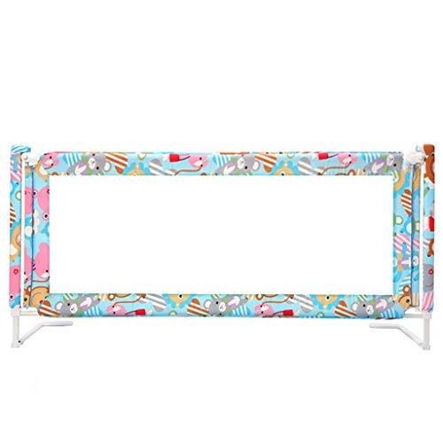 Barrières de lit- Rail Gris très Grand de lit pour des Enfants en Bas âge, Pliable pour Le Rail de Garde de lit de bébé d'enfants (Couleur : Multicolore, Taille : 1.9m)