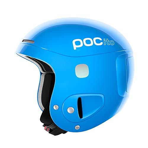POC Pocito Skull, Casco da Sci Unisex-Bambini, Blu (Fluorescent Blue), XS/S