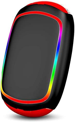 PEYOU Calentador de Manos Recargable[7 Color Luces], 7800mAh Cargador Portatil Banco de...