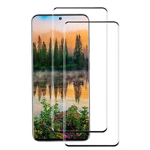 [2 Stück] Panzerglas Schutzfolie für Samsung Galaxy S20+,9H Hartglas Panzerfolie,Vollständige Abdeckung,Anti-Kratzen,blasenfrei,hohe Empfindlichkeit,Displayschutzfolie für Samsung Galaxy S20 Plus