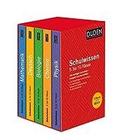 Duden Schulwissen 5. bis 10. Klasse 5 Baende: Alle wichtigen Unterrichtsinhalte - kompakt und uebersichtlich