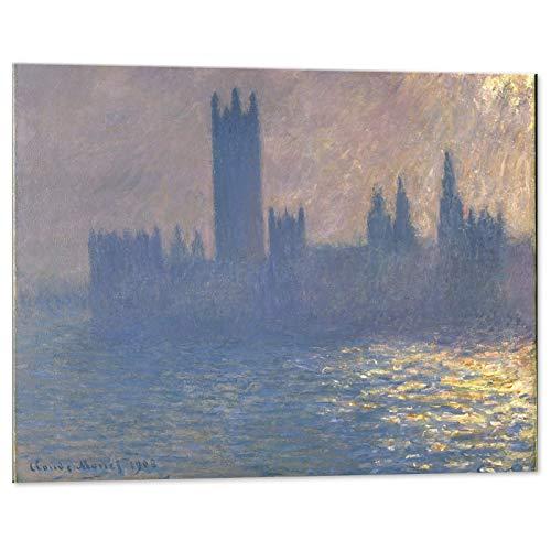 Kuader Cases der Finanzierung mit Solareffekt Claude Monet, 100 x 70 cm