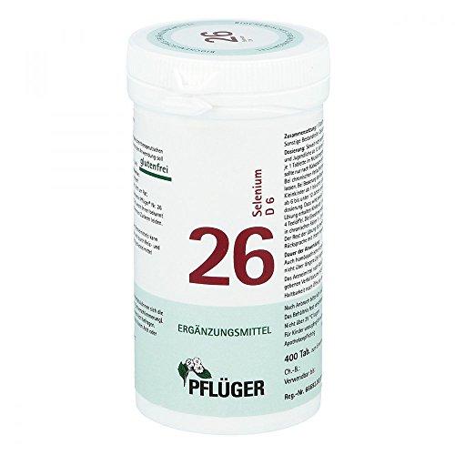 BIOCHEMIE Pflüger 26 Selenium D 6 Tabletten 400 St