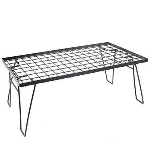 Productos al aire libre Mini mesa de picnic, mesa plegable para acampar, luz y portátil con mesa de red, estante para barbacoa, mesa de picnic al aire libre