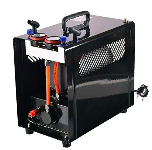 MINI Kompressor für Airbrush Zweizylinder Lufttank Airbrushkompressor 2 Airbrush