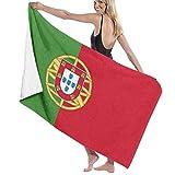 Toalla de Playa Toalla de baño de Las Toallas de baño de la Bandera de Portugal para el Balneario casero del Hotel