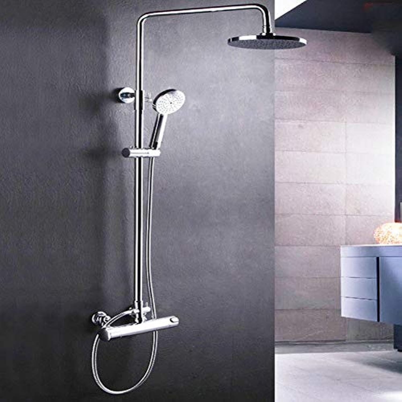 Dusche Wasserhahn Umweltschutz konstante Temperatur Wasserhahn Intelligente Temperatur und Regen Dusche Dusche Spalte festlegen