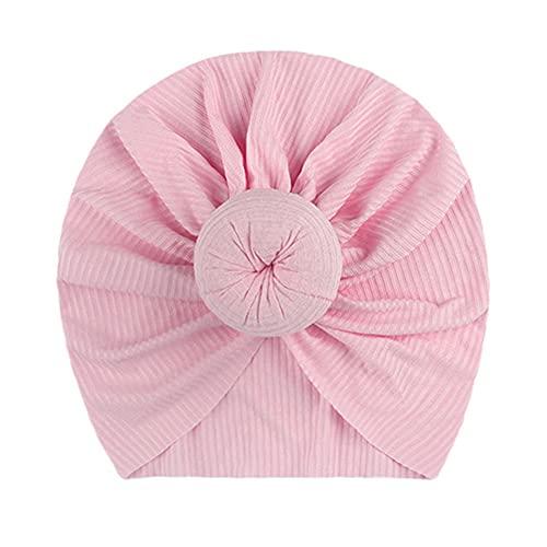 Cappello del bambino di colore solido Big Bowknot Cappello della neonata Turbante Knot Head Wraps Baby Kids Bonnet Beanie Puntelli di fotografia appena nati-style 6 01