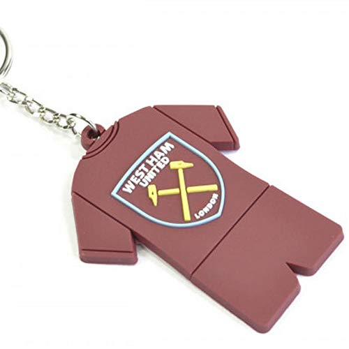 Club Licensed West Ham Full Kit PVC Keyring