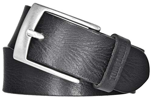 TOM TAILOR heren leren riem used look in te korten 40mm leren riem herenriem