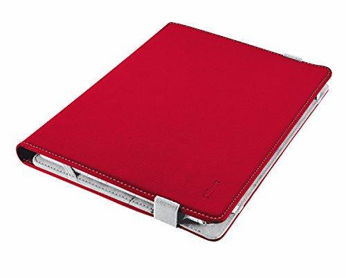 Trust Verso Universal Folio Stand per 7-8  tablets - rosso